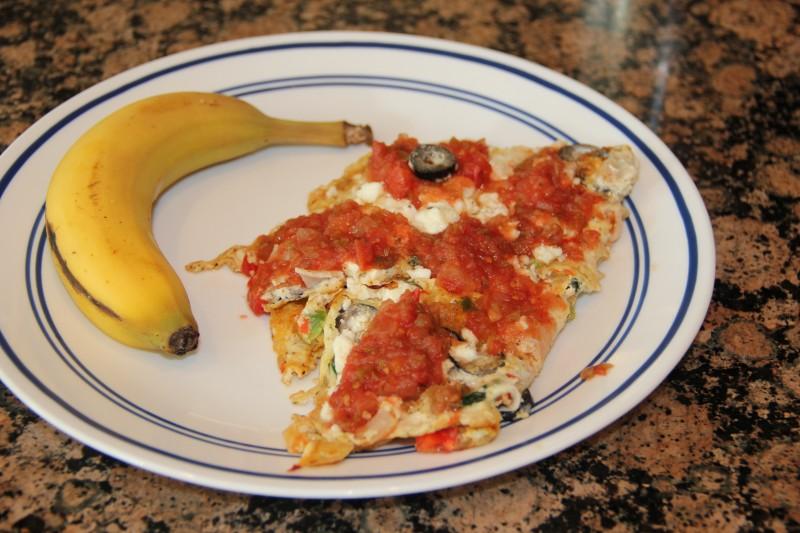 eggs-and-a-banana