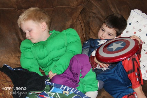 Sleepy-Superheroes