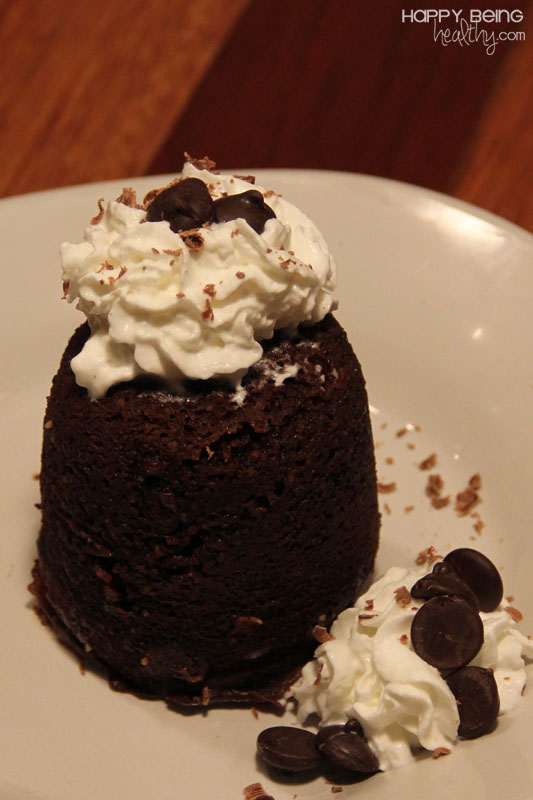 Chocolate Mug Cake With Truvia
