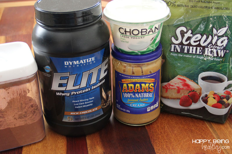Chocolate Protein Pudding Ingredients