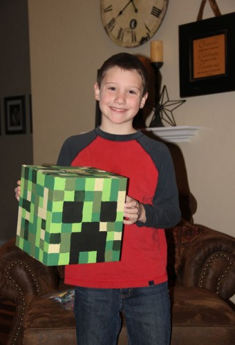 Derek with his Creeper Box