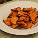 Quinoa Burgers + Sweet Potato Chips