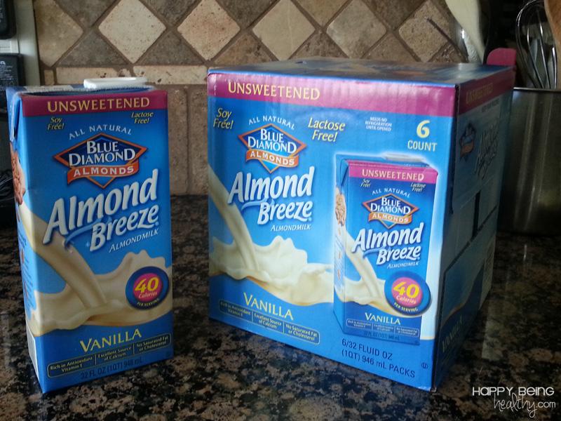 ve seen almond milk at...