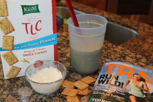 protein shake crackers cottage cheese runners world