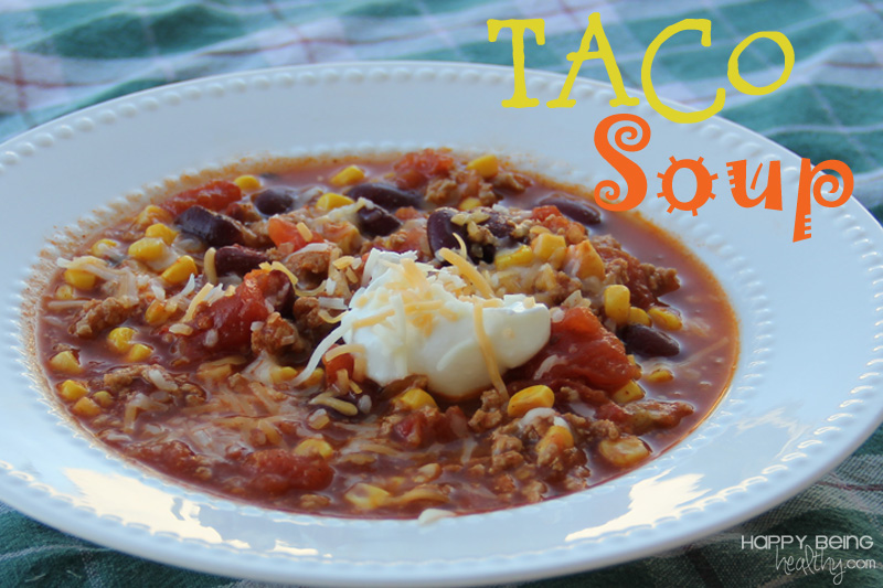 recipe: healthy taco soup with ground turkey [4]