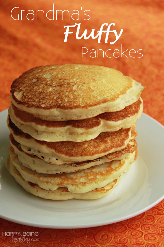 Pancake Recipe | Happy Being Healthy