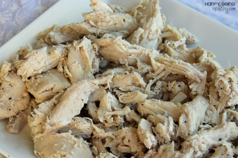 The Easiest Shredded Crockpot Chicken Recipe — Dishmaps