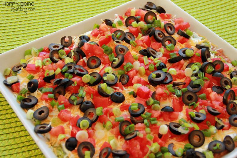 Fun Weekend + Quick and Easy Seven Layer Dip! | Happy Being Healthy