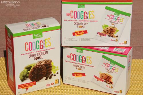 boxes of Cooggies, healtheir cookies