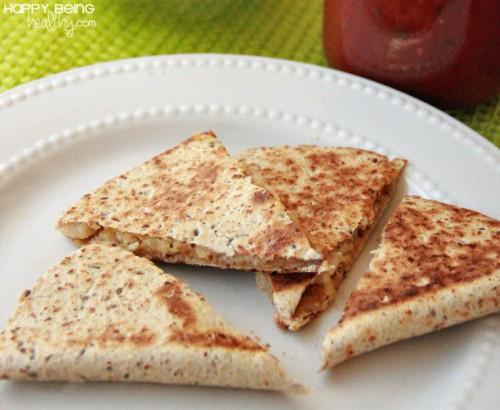 Healthier Taco Bell Chicken Quesadillas