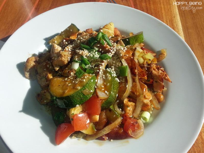 Chicken With Quinoa And Veggies Recipe — Dishmaps
