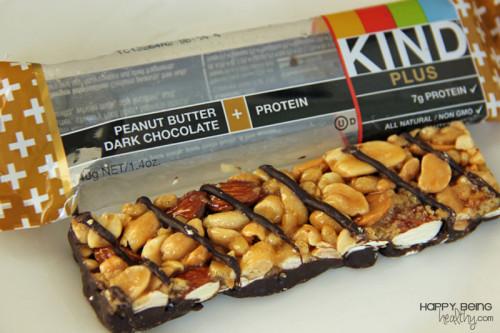 Peanut Butter Dark Chocolate KIND bar