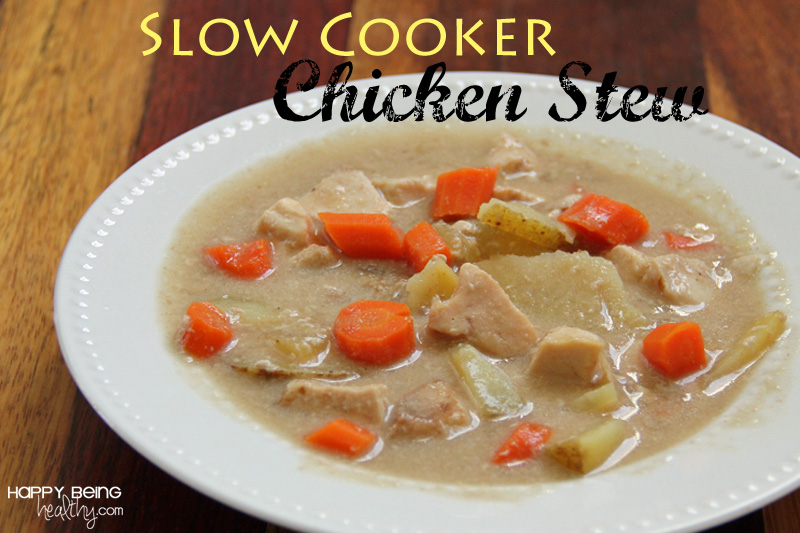 Slow Cooker Chicken Stew Recipe — Dishmaps