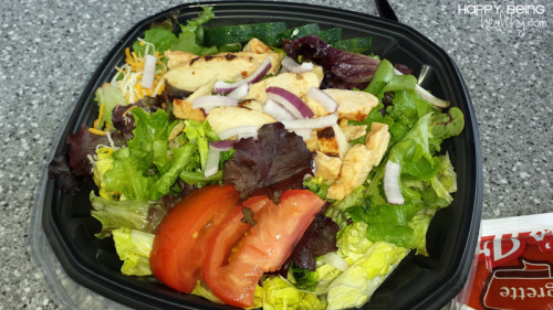 Carls Jr Salad