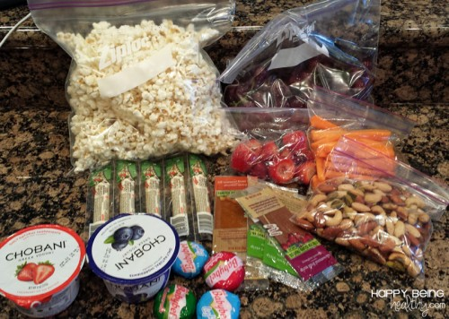 Healthy snacks for trip to Oregon