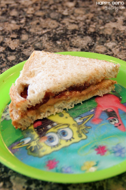 Peanut Butter And Green Tomato And Jalapeno Jam Sandwich ...