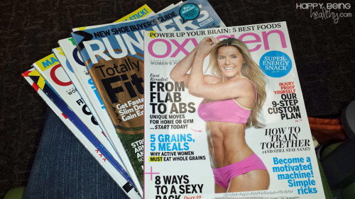 Oxygen and Runner's World at the Hospital