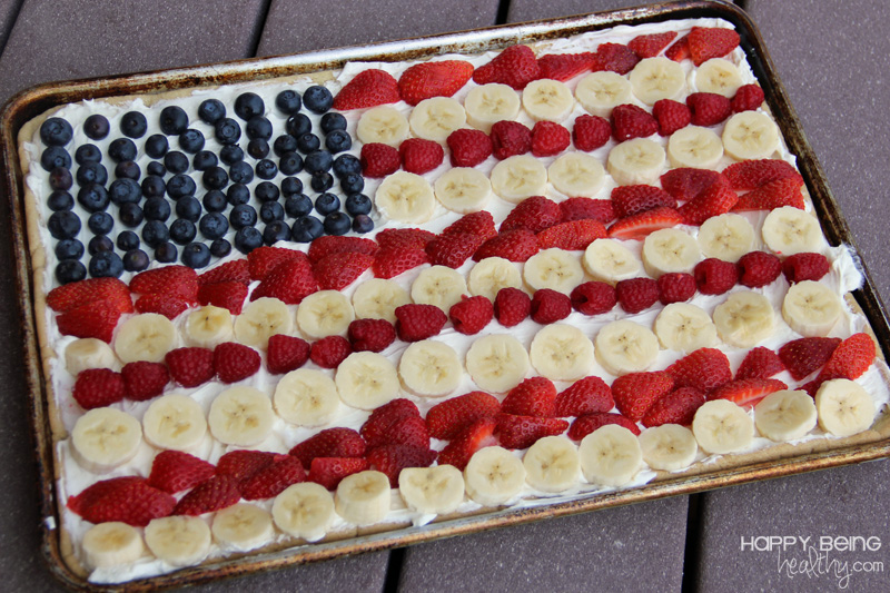 fruit skewers with yogurt fruit dip an american flag fruit pizza ...