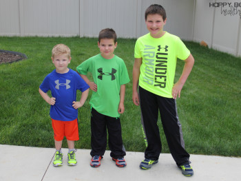 Fun Stuff + Back-to-School Under Armour Clothes!