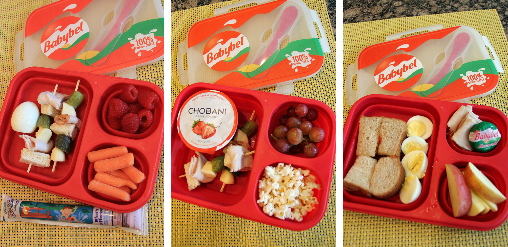Mini Babybel Cheese And Healthy Lunchbox Ideas