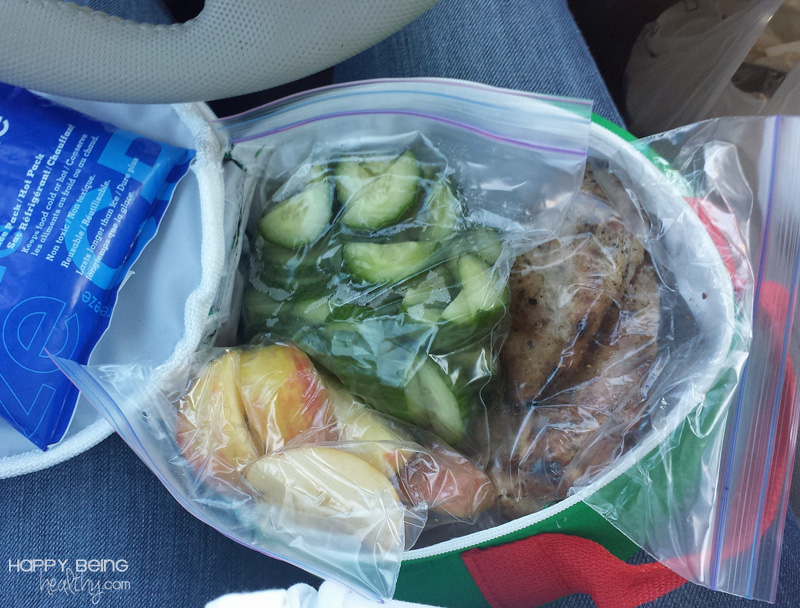 Healthy food on the go