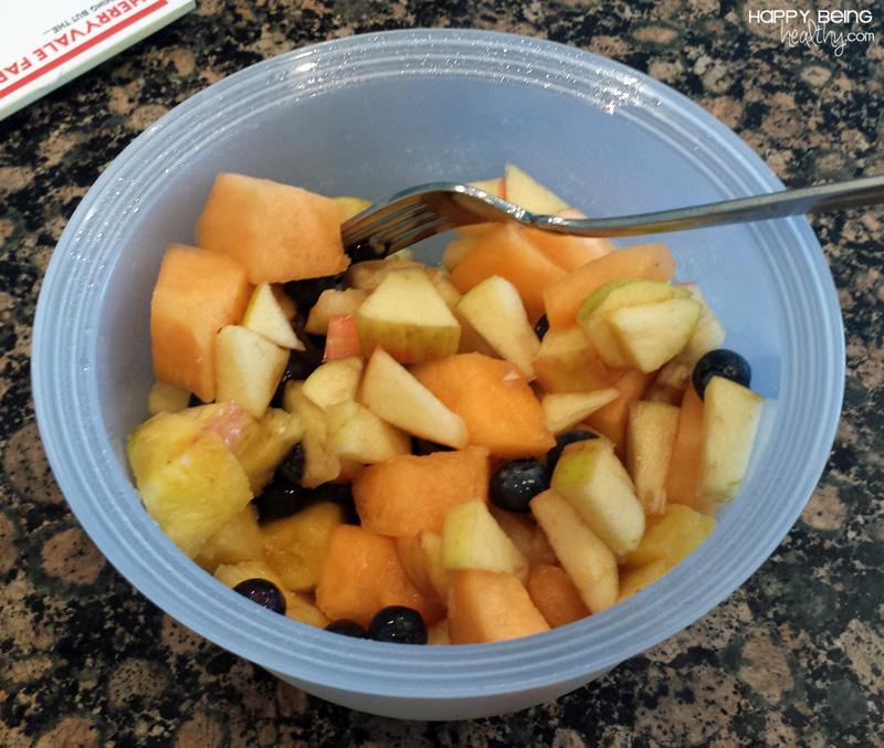 Leftover fruit