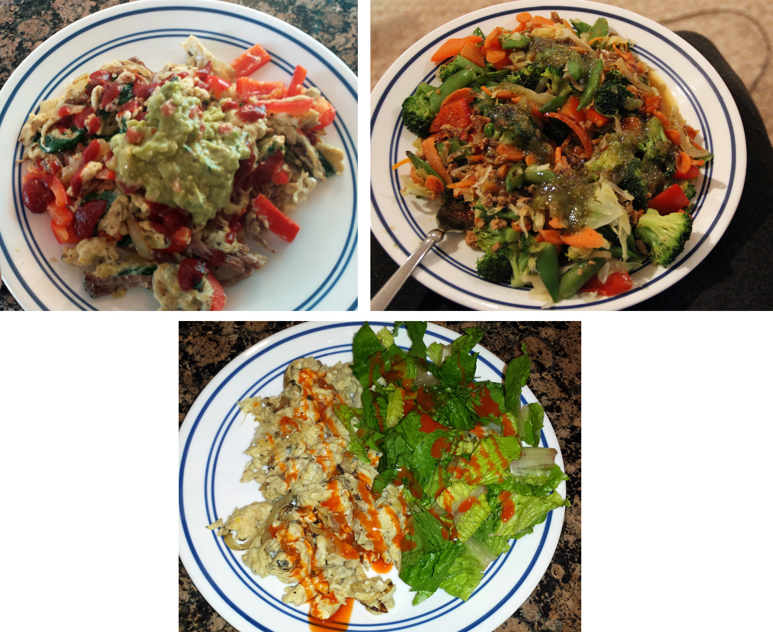 Various Whole 30 creations