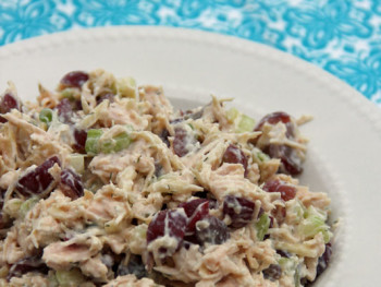 Simplifying Life + Easy and Healthy Chicken Salad Recipe