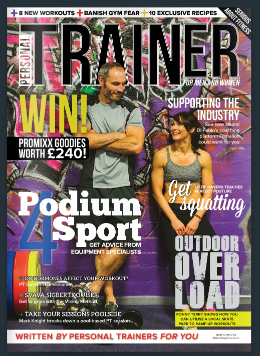 Personal Trainer Magazine March 2015