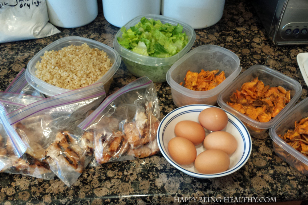My Oxy Challenge Food Prep