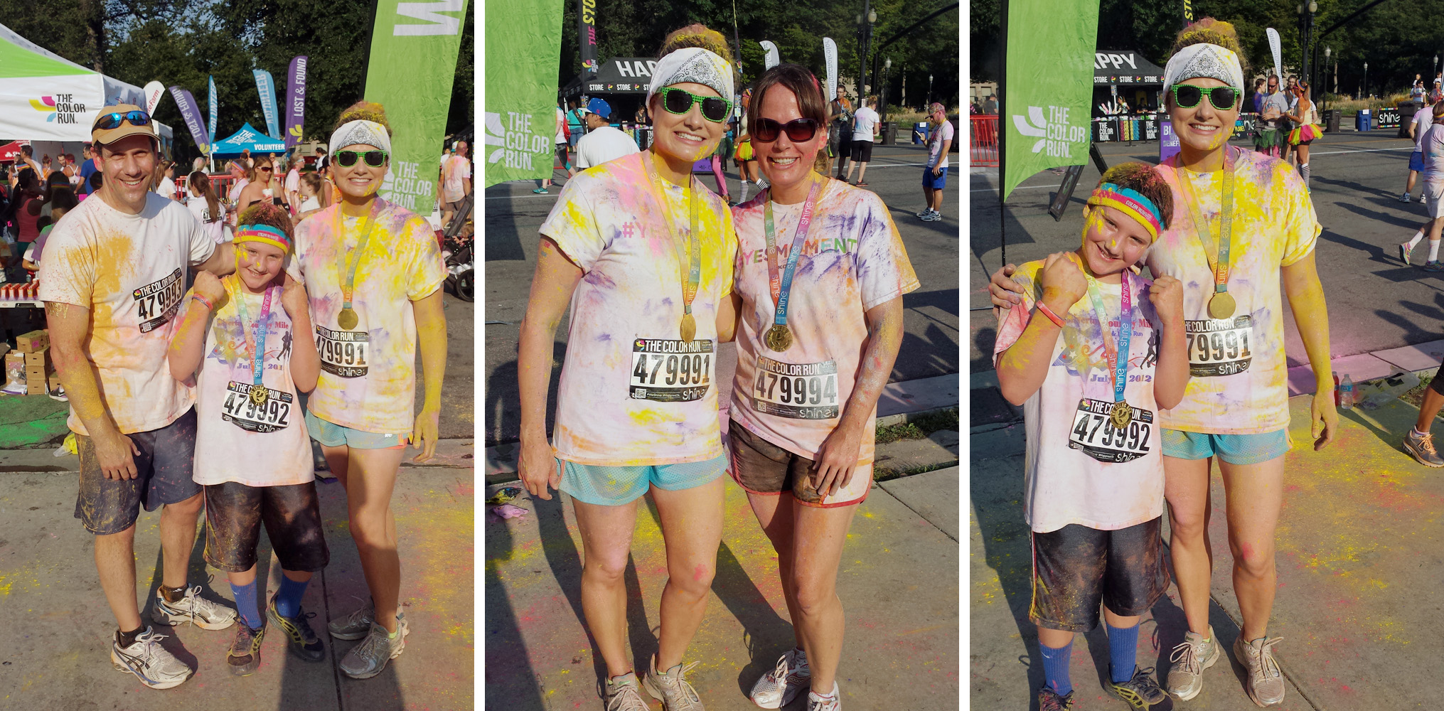After pics from The Color Run