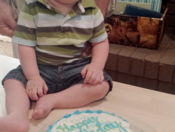 My Sweet Baby is ONE + His Birth Story (a year late!)