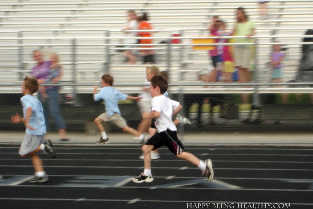 D running track