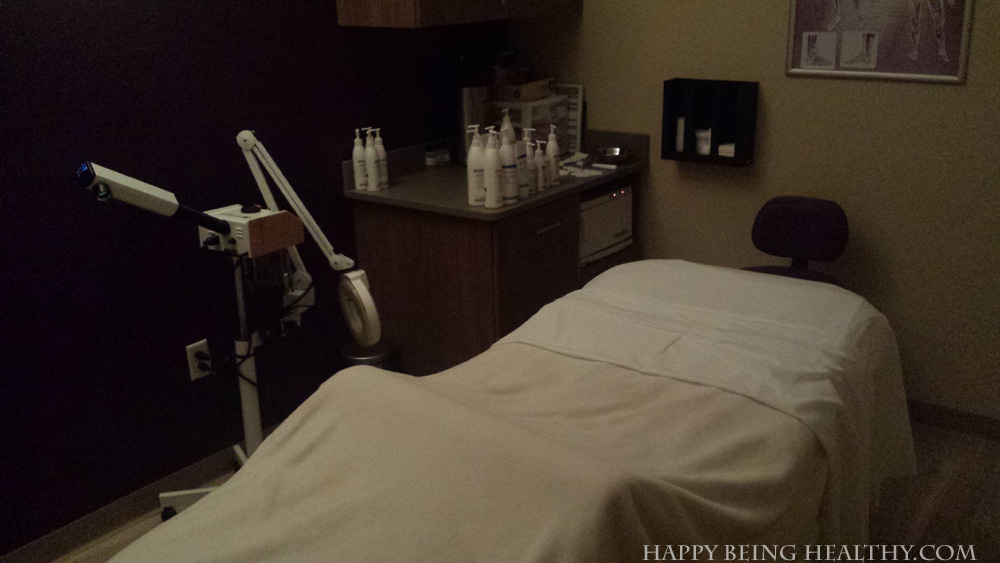 My serene room at Massage Envy