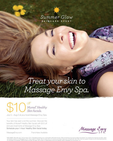Summer Glow Massage Envy