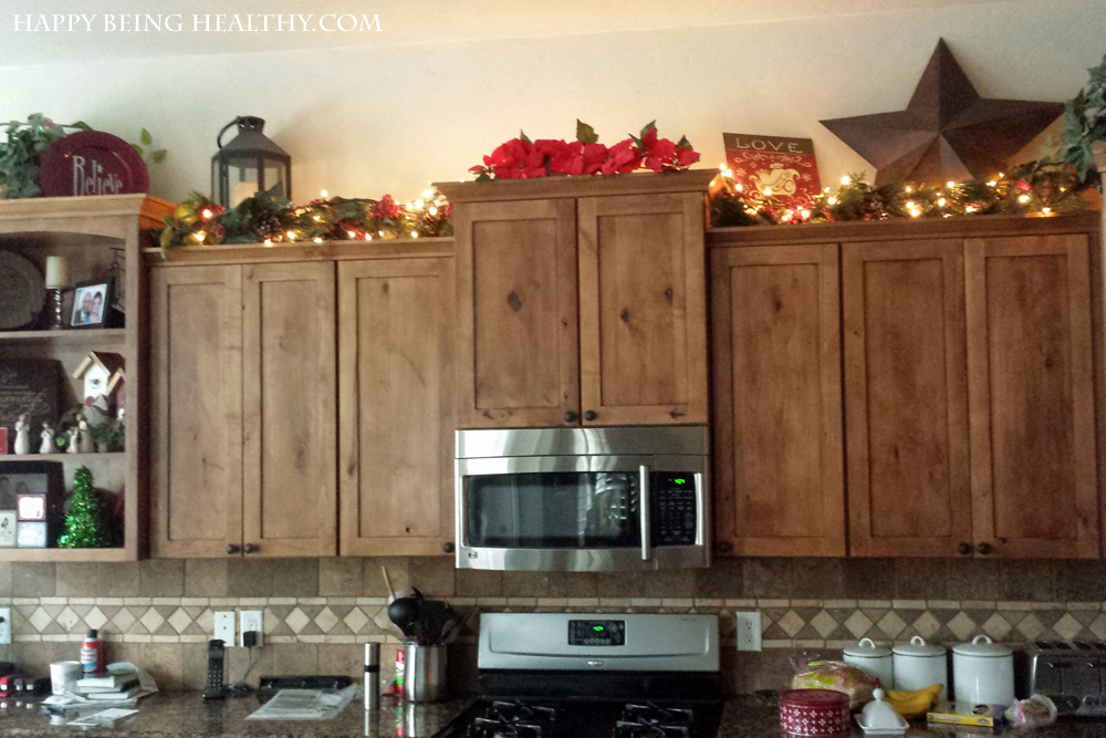 String Lights For Under Cabinets : Christmas Tree Happy Being Healthy