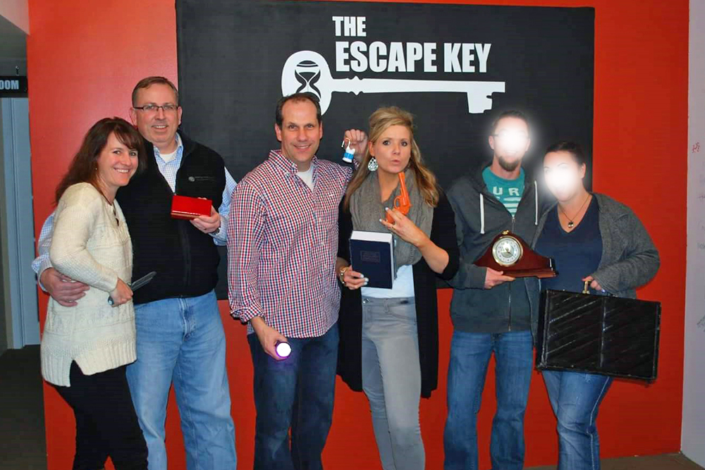 At The Escape Key with our friends