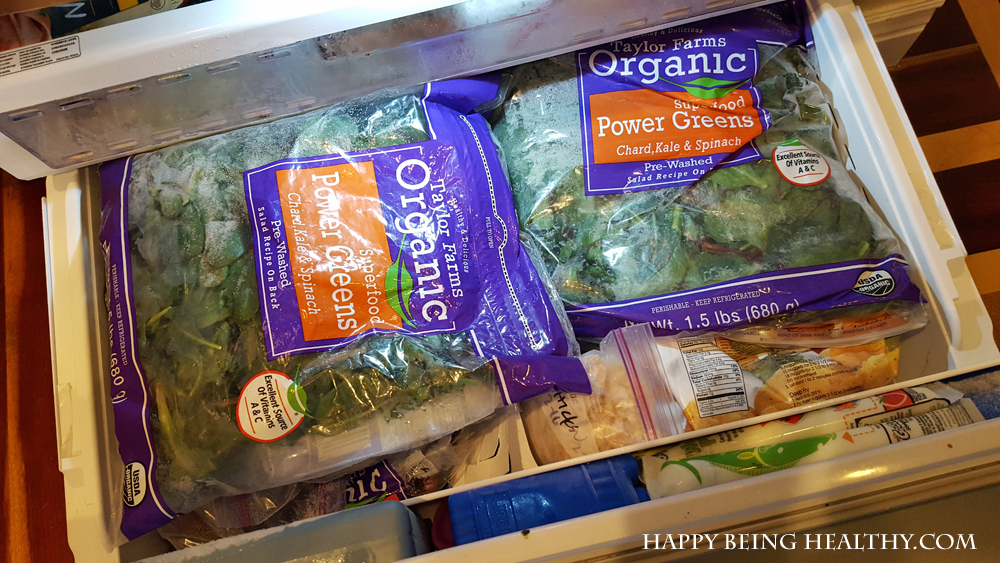 My Frozen Power Greens