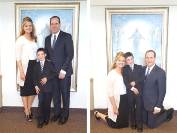 My Son's Baptism + Some Progress Pictures!  Wahoo!