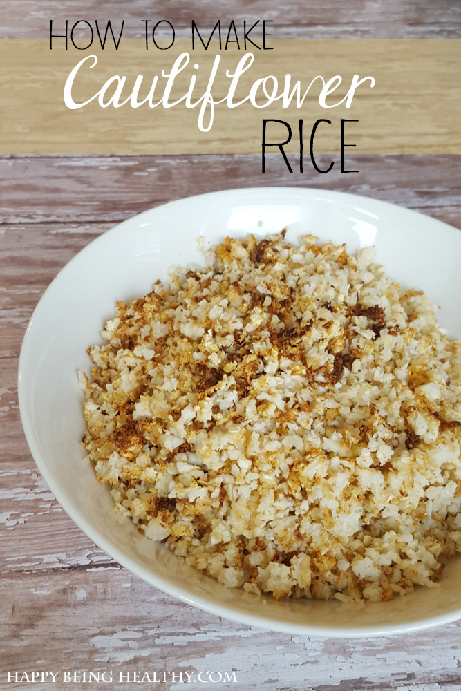 How To Cook Cauliflower Rice Stovetop