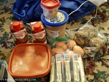 Healthy Travel Food, a Healthy Crock-Pot Dinner and my Deep Thoughts