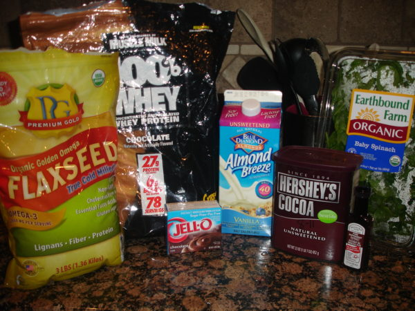 ingredients-for-peppermint-chocolate-protein-shake